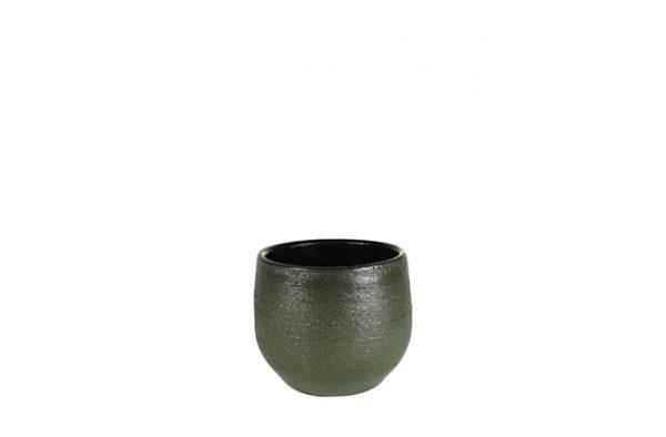 Pot zembla - h13xd15cm groen