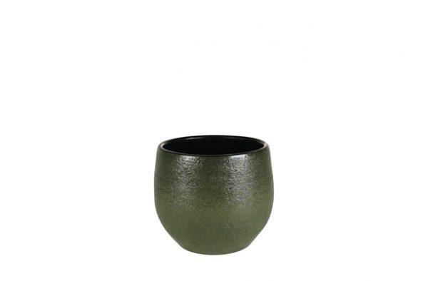 Pot zembla - h16xd18cm groen