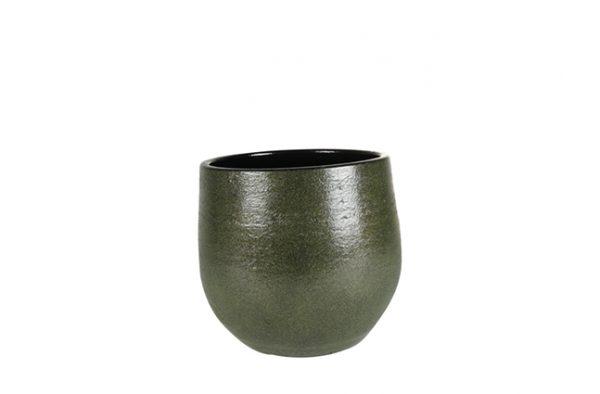 Pot zembla - h20xd22cm groen