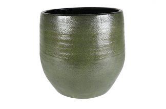 Vaas zembla - h37xd19cm groen