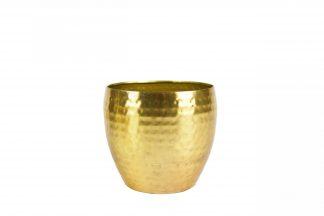 Pot kody - h16xd21cm goud