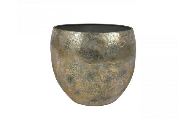 Pot thomas - h25xd28cm goud