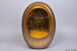 Marrakech Egg t-light gold 40cm